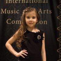 Юная конкурсантка :: Ольга Лыкова