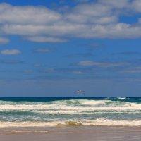 Средиземное море со стороны Израиля. :: Пётр Беркун