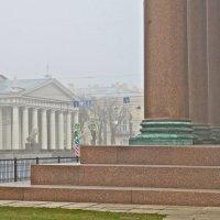 здание Манежа в утреннем тумане :: Елена