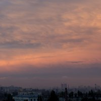 Волгоград. Небо. С балкона. :: Наталья Кузнецова