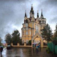 Воскресенская церковь. Томск, август :: Edward Metlinov