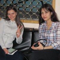 Две подружки - Марина и Гуля :: Дмитрий Никитин