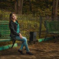 В тихом парке :: Сергей