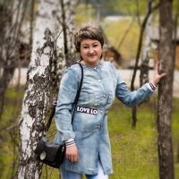 Весеннее настроение( Автопортрет) :: Оксана Романова