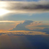 Над облаками. :: Alexey YakovLev