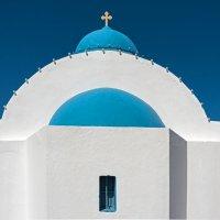 Санторини, цвет небесный... :: Виктор Льготин