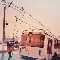 Троллейбуса, который идет на восток. :: Олег Платонов