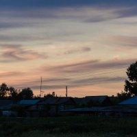Летний вечер над русским селом :: Алексей (АСкет) Степанов