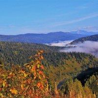 Утренний взгляд в долину реки :: Сергей Чиняев