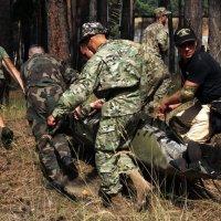Учения военных медиков :: Сергей Рубан