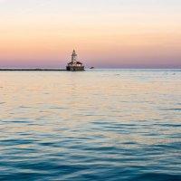 Маяк на озере Мичиган :: Лёша