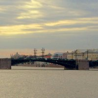Дворцовый мост :: Сергей Карачин