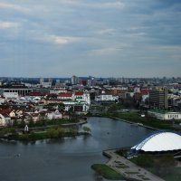 Минск с птичьего полета :: Андрей Дорофеев