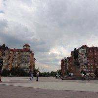 Площадь Петра Первого в г.Астрахань :: Евгения Чередниченко