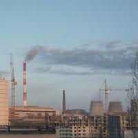 Слияние облака и дыма :: Николай Филоненко