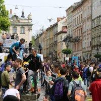 Обливной понедельник во Львове-10. :: Руслан Грицунь