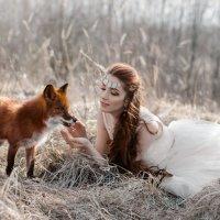 Две лисицы :: Tatyana Smit