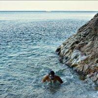 Марина с боевым пловцом :: Кай-8 (Ярослав) Забелин