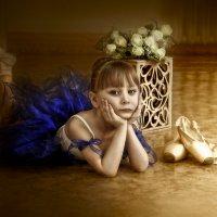 "маленькая ""Прима- Балерина"" :: Светлана Мизик"