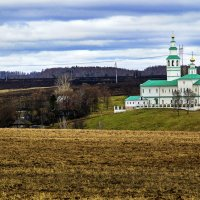Храм на холме... :: Владимир Хиль