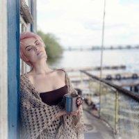 Утро кофе нежность причал 1 :: Денис Соболев