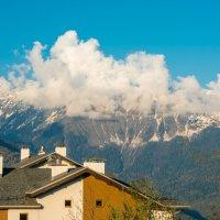 Шапка облаков :: Андрей Володин