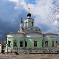 Храм Воздвижения Креста Господня на Чистом Вражке :: Евгений Голубев
