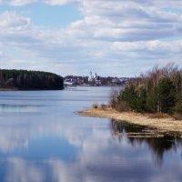 На горизонте город Мышкин. :: Ирина Нафаня
