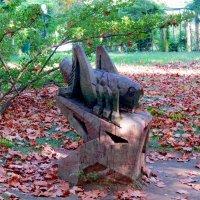 Деревянный кузнечик :: Вера Щукина
