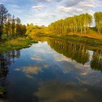 Весенний закат в Мещёре :: Андрей Попов