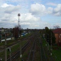 Станция  Стрый :: Андрей  Васильевич Коляскин