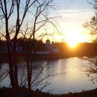 Закат у реки :: BoxerMak Mak