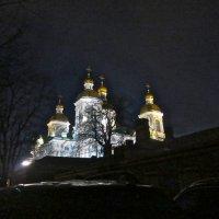 в ночи, Никольский собор :: Елена