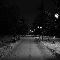Ночная прогулка :: Пётр Баранов
