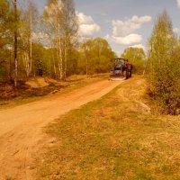 Выравнивание дороги :: Павел Михалев