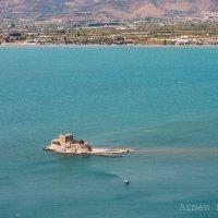 Castle Bourdzi. Greece. Nafplio :: Armen. Hakobyan