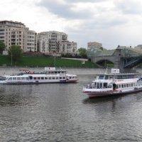 На Москве-реке :: Дмитрий Никитин