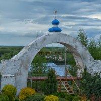 Звонница в Усть-Медведицком монастыре :: Marina Timoveewa