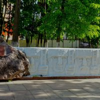 Памятник воронежскому добровольному коммунистическому стрелковому полку. :: Elena Izotova