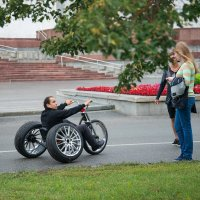 Вот такое средство для передвижения! :: Елена Нохрина