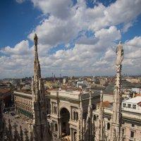 Крыши Милана, галерея Витторио Эммануэля II :: Евгений {K}