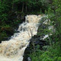 Водопад «Белые мосты» (Юканкоски) :: Елена Якушина