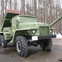 122 мм реактивная система залпового огня БМ-21 :: Антонина