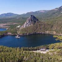 Озеро Боровое, Голубой залив. Северный Казахстан :: Александр Решетников