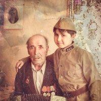 Спасибо деду за победу !!!! :: Наталья