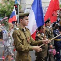 Парад Победы в Хайфе :: Николай Волков