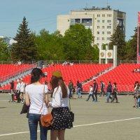 Парадная площадь после парада :: Albina