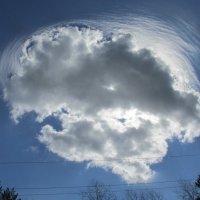 Вот такое интересное облачко :: Galaelina