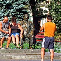 прикоснуться к Утесову... :: Александр Корчемный
