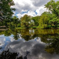 Парк, в тени деревьев. :: Павел Петрович Тодоров